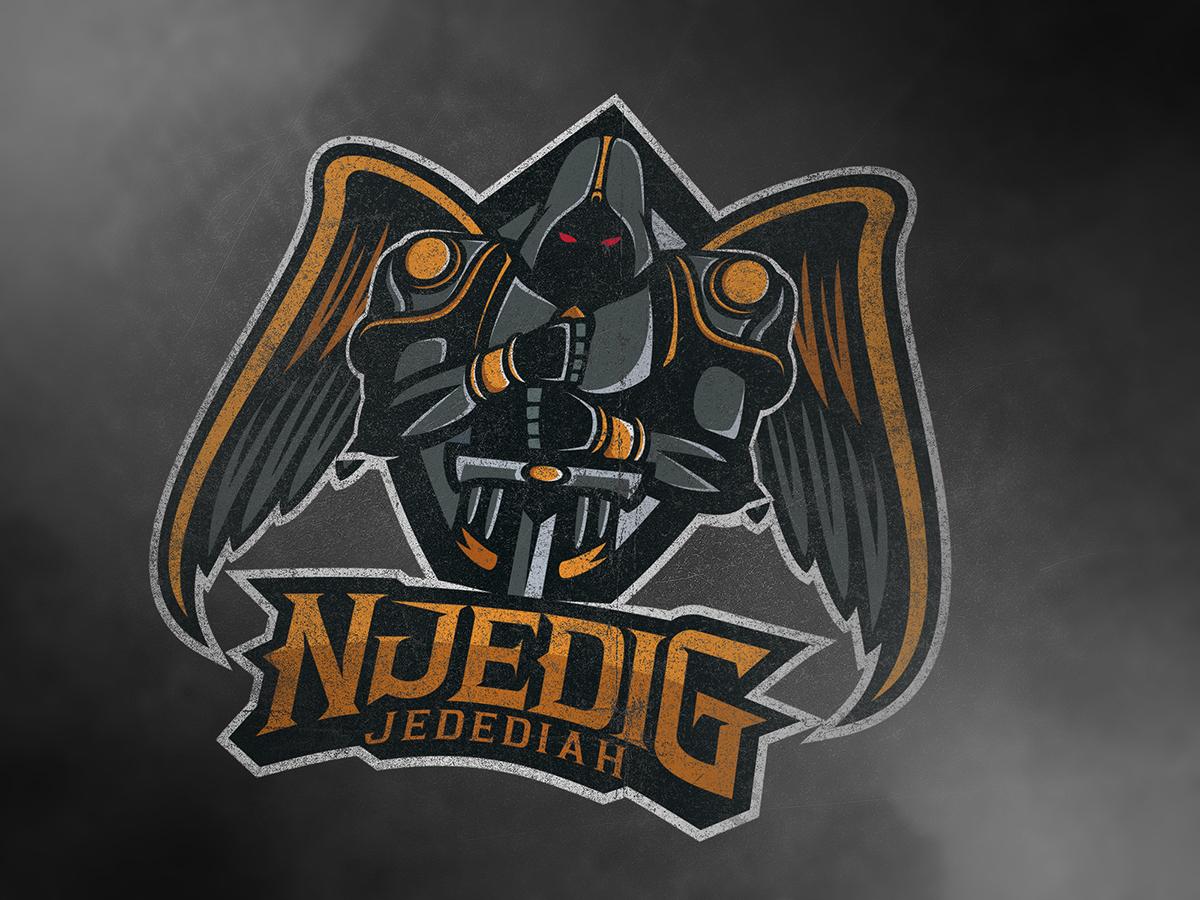 NjediG Jedediah Esport Logo On Behance