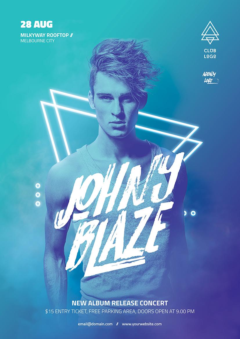 DJ Concert Flyer On Behance