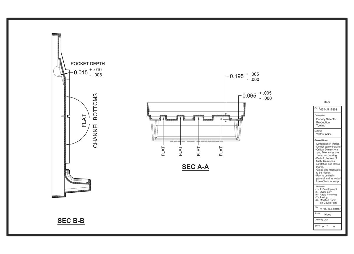 Duracell Battery Selector On Behance