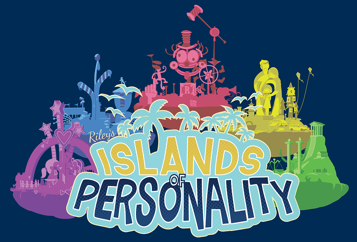 Inside Out Islands Of Personality On Behance