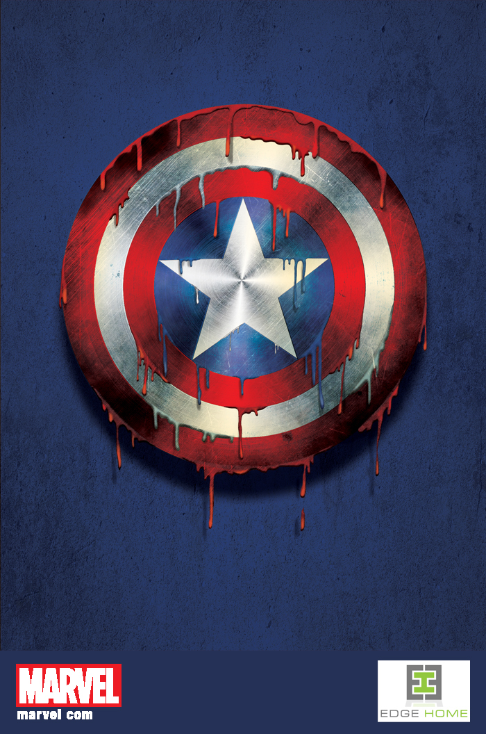 Captain America Melting 3d Lenticular(Marvel) on Behance