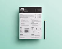 Free A4 CV   Covering Letter Templates on Behance