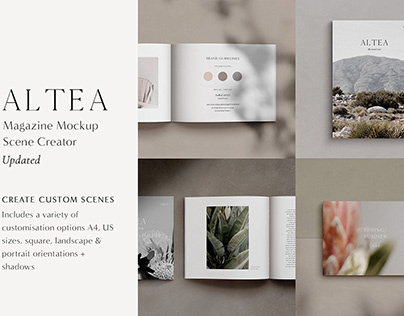 Download A4 Size Brochure Mockup Psd Free Download Yellowimages
