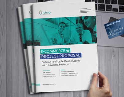 E Commerce Project Proposal Template On Behance