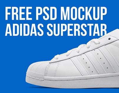 Download FREE PSD Mockup - Adidas Superstar on Behance
