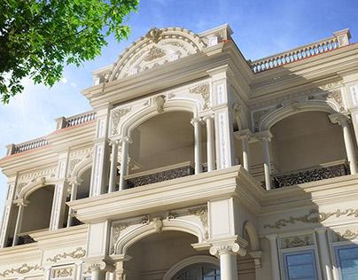 3D Visualization Of A Classic Villa On Behance