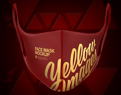 Download Free Download Mockup Masker Yellow Images
