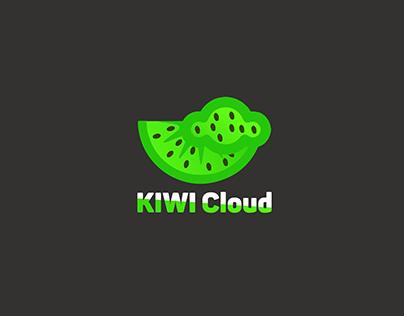 Kiwi Cloud Logo Brand identity