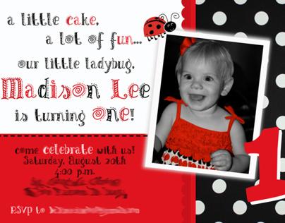 minnie mouse birthday invitation on behance