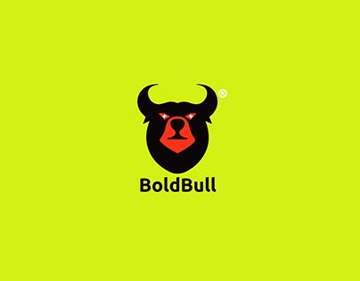 Bold Bull (Bear+Bull) Modern Logo Branding