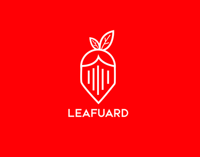 Leafuard Digital Security Agency Branding and Logo