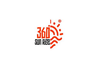 360 Sun Rise Travel Agency Branding