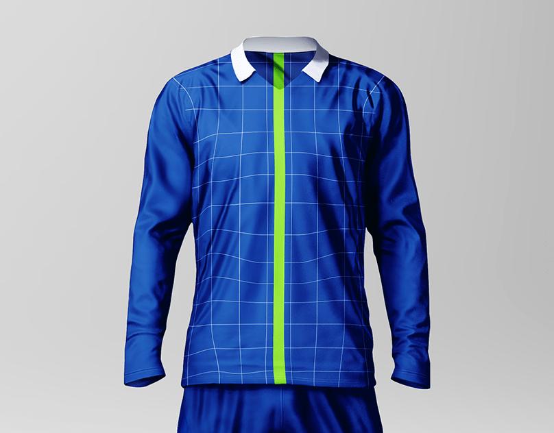 Download Men's Soccer Jersey Mockup Pack on Behance
