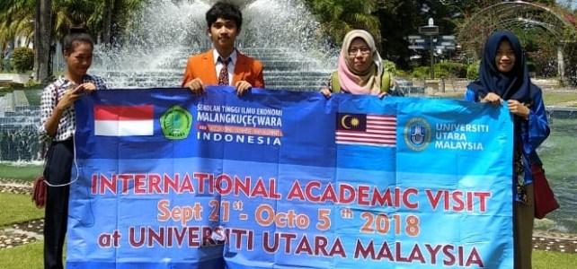 Mewujudkan Mahasiswa yang berwawasan global, Mahasiswa ABM mengikuti perkuliahan internasional di Malaysia