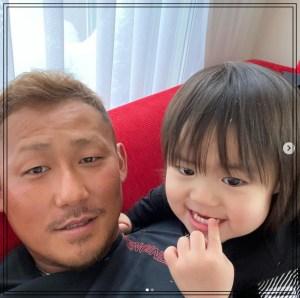 中田翔と長男