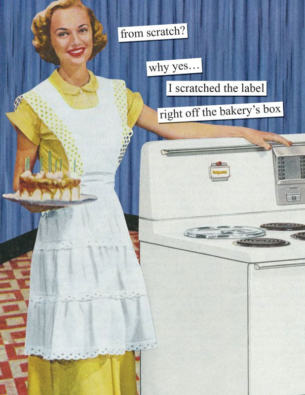 102 Hilariously Sarcastic Retro Pics That Only Women Will Truly