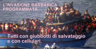 Risultati immagini per invasione di clandestini in italia