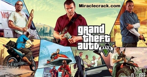 GTA 5 Crack Game for PC 100% Working