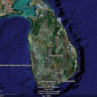 Searchable Map of Sri Lanka using Google Earth Data