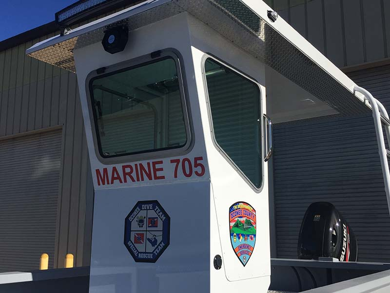 marine boat cockpit