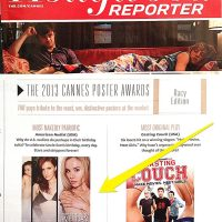 """American Nudist"" in The Hollywood Reporter in Cannes 2013"