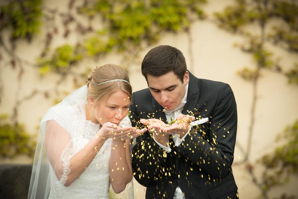 Brautpaar Christian und Ruth