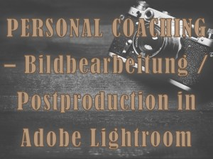 Personal Coaching Lightroom