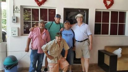 Our group meeting in El Salvador