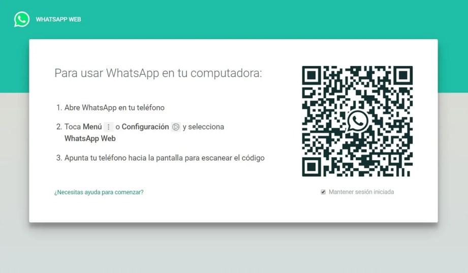 Cómo Escanear el Código QR de WhatsApp Web con la Cámara Frontal (Ejemplo)| Mira Cómo Se Hace