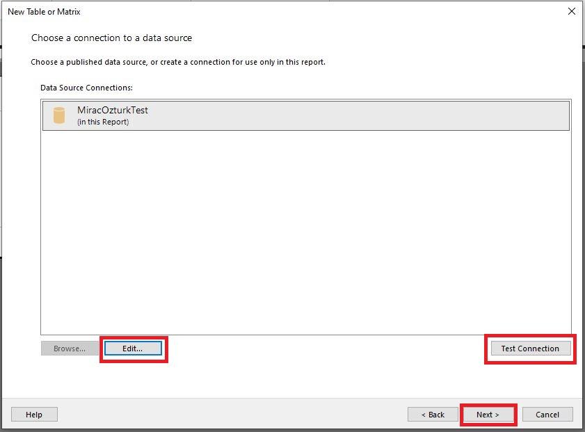 power-bi-report-builder-matrix-table-data-connection-step