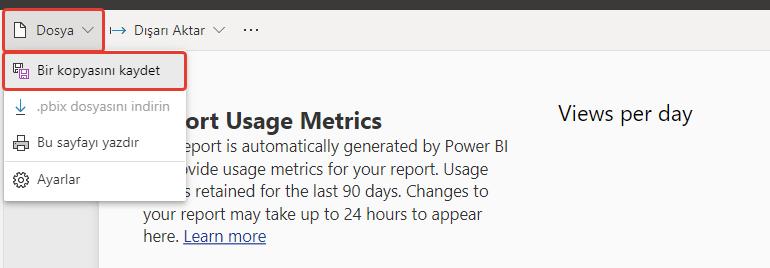 microsoft power bi data science dashboard report copy user metrics raporlama is zekasi