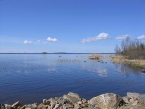 Mieleni maisema järvi, jossa uinti oli ihanaa aina.
