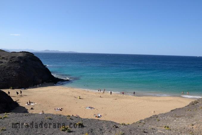 Playa El Papagayo Lanzarote sur