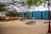 Plaza Cultural Tanque de Buena Vista, proyecto de reanimación cultural y social, situado en la cabecera provincial de Las Tunas, insertándose éste al programa de transformación que beneficia gran parte del entorno citadino y su disfrute sano por la población que le rodea, en Las Tunas, Cuba, el 26 de noviembre de 2015. ACN FOTO/ Yaciel PEÑA DE LA PEÑA/