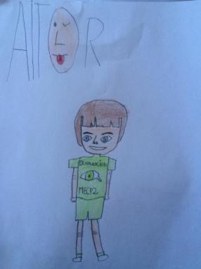 dibujo Miguel