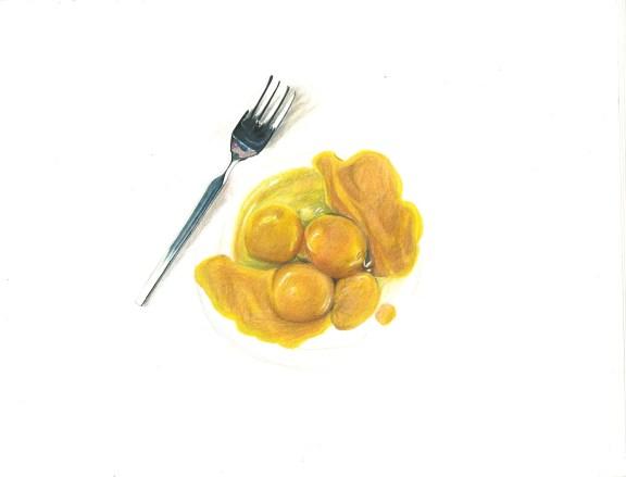 Grandpa's Eggs // Cover Art for Cal Literature & Arts Magazine