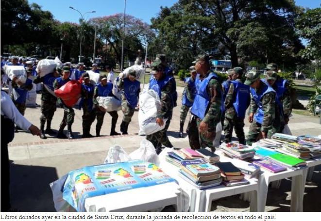 La tasa de analfabetismo en bolivia baja a 2,4%