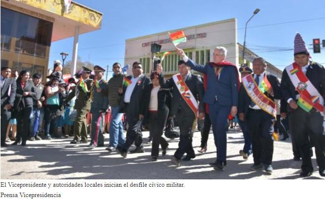 Gobierno invierte Bs 86 millones para agua y educación en Villazón