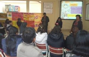 Reflexión y testimonios en el curso de violencia contra la mujer y despatriarcalización