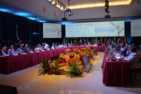 Cochabamba acoge la reunión de Ministros de Educación de la Organización de Estados Iberoamericanos (OEI)