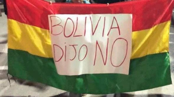 Reportan que estudiante de «Bolivia dijo No» sigue recibiendo amenazas