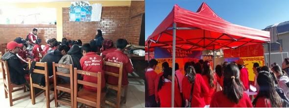 Gobiernos estudiantiles realizan acciones de prevención de violencias en sus unidades educativas