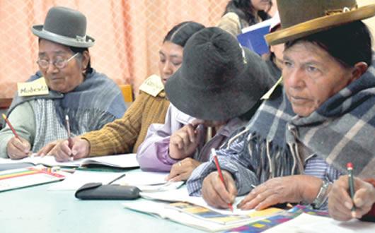 Bolivia redujo significativamente la tasa de analfabetismo a 2.4 %