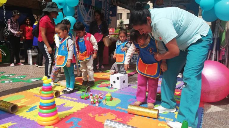 """""""Los niños, el trabajo más importante"""", un festival que celebra la primera infancia"""