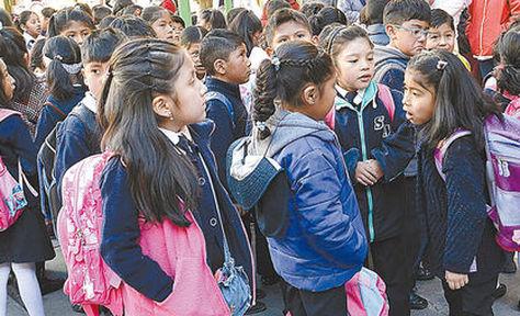 Dirección de Educación de La Paz aclara que labores escolares serán normales este miércoles