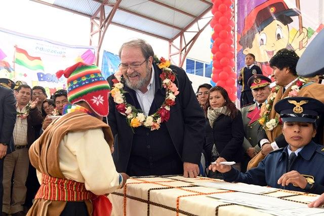Pago del Bono Juancito Pinto arranca el 22 en Montero