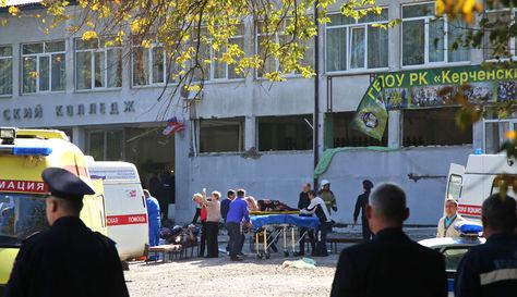 Al menos 18 muertos por atentado con explosivo en un colegio de Crimea