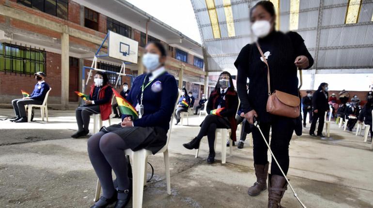 BM estima que la tasa de deserción escolar de Bolivia subió al 20%, una de las peores de la región