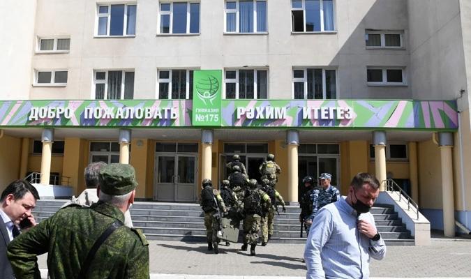 Al menos ocho muertos en un tiroteo en una escuela de Rusia