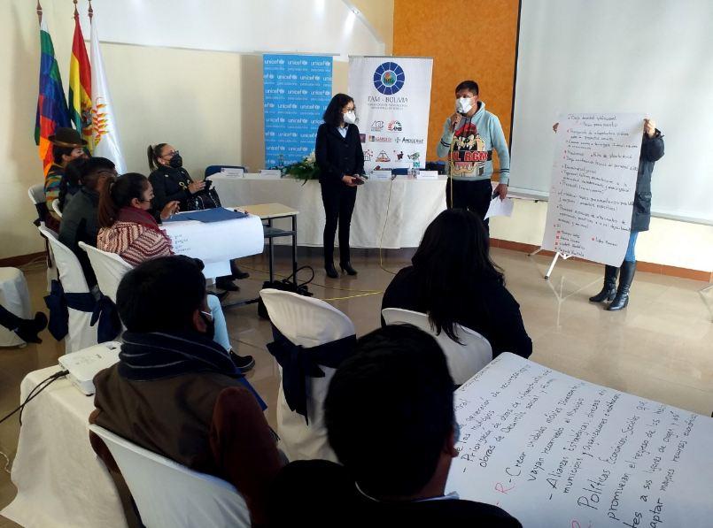 Unicef y la FAM Bolivia capacitaron a técnicos de gobernaciones y alcaldías en el diseño de presupuestos para niñez y adolescencia